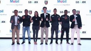 Mobil Lubricants Sponsor utama Bali United Football Club (BUFC)