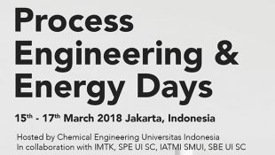 Process Engineering & Energy Days UI 2018